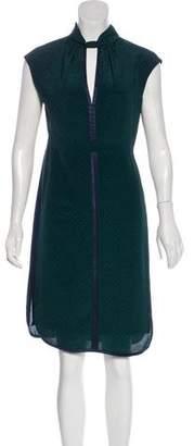 Tory Burch Printed Sleeveless Dress