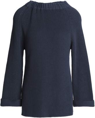 Goat Ribbed Cotton Sweater