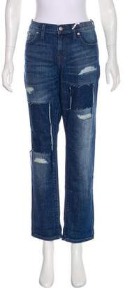 Madewell Mid-Rise Straight-Leg Jeans w/ Tags