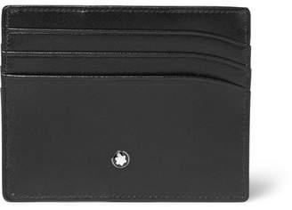 Montblanc Meisterstuck Leather Cardholder - Black