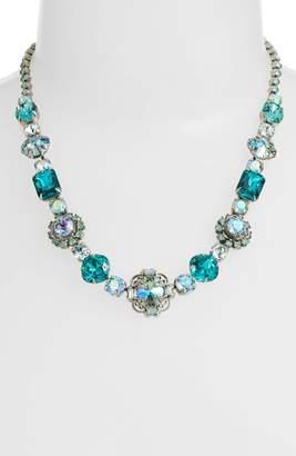 Sorrelli Sunflower Crystal Necklace