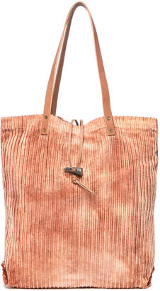 Free People Corduroy Washed Tote Bag