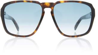 Givenchy Tortoiseshell Acetate Square-Frame Sunglasses