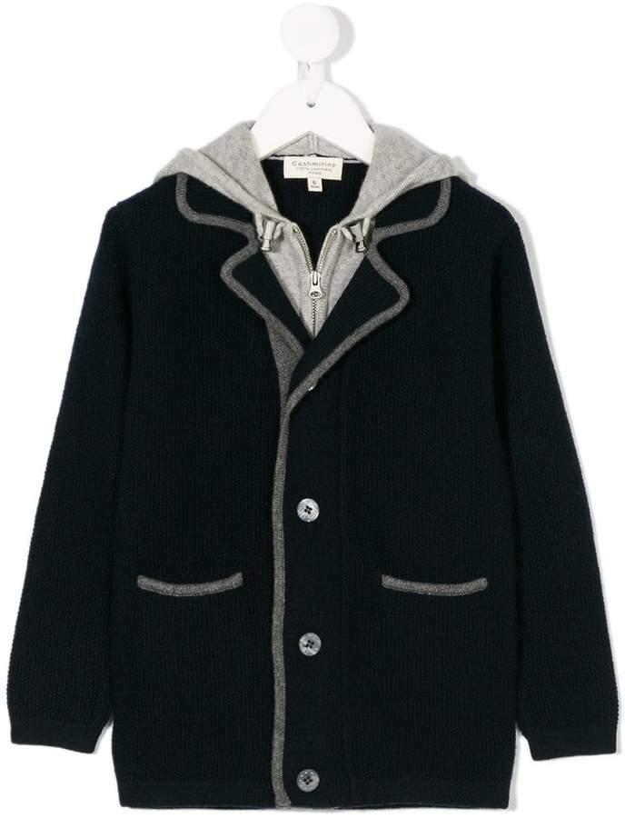 Cashmirino Cashmere layered jacket