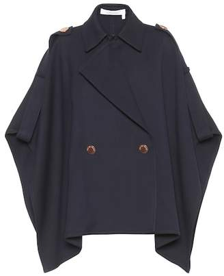 See by Chloe Cotton-blend cape