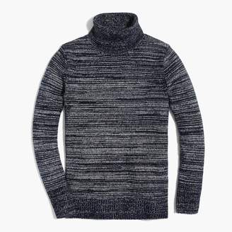 J.Crew Space-dyed turtleneck sweater