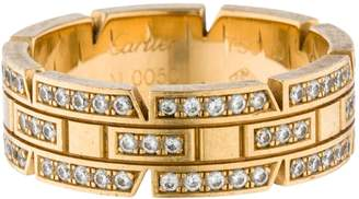 Cartier Tank Française yellow gold ring