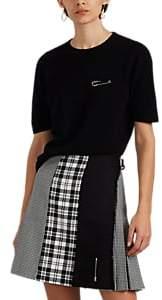 LE KILT Women's Embellished Cashmere Top - Black