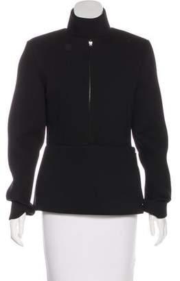 Maison Margiela Wool Zip-Up Jacket