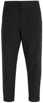 Barena Venezia - Checked Cotton Blend Trousers - Mens - Grey Multi