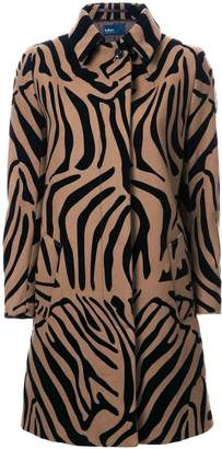 Kolor animal print coat