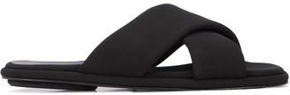 Rosetta Getty crisscross strap flat sandals