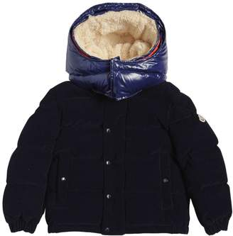 Moncler Chaumont Hooded Nylon Down Jacket