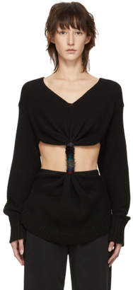 Loewe Black Embroidered Knot Sweater