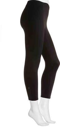 HUE Hosiery Side Zip Active Leggings - Women's