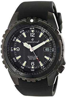 Momentum Men's 1M-DV68B4B D6 Night Vision Stainless Steel Watch