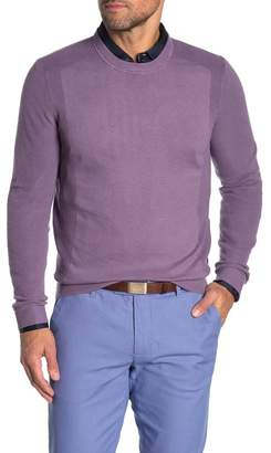 Ted Baker Reversy Slim Fit Crewneck Long Sleeve T-Shirt