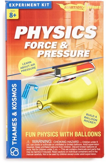 Boy's Thames & Kosmos 'Physics Force & Pressure' Experiment Kit