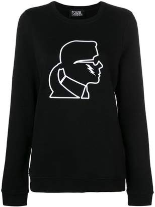 Karl Lagerfeld lightning bolt sweatshirt