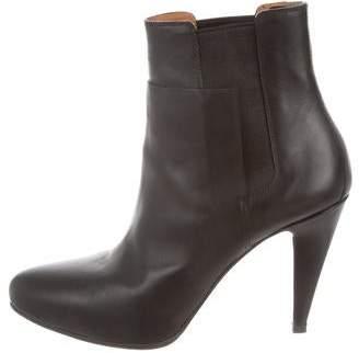 Balenciaga Round-Toe Ankle Boots