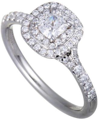 Tiffany & Co. Heritage  Platinum 0.75 Ct. Tw. Diamond Ring