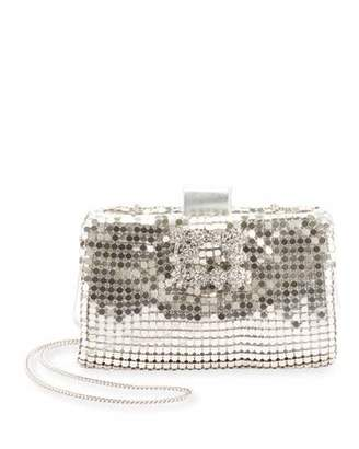 at Neiman Marcus · Roger Vivier Cotte de Maille Soft Clutch Bag c51ff1be751b3