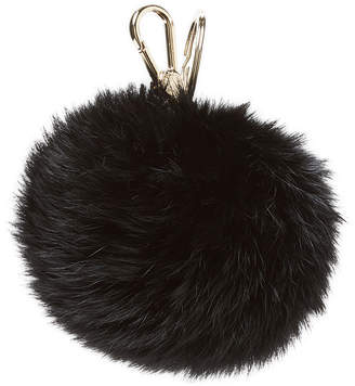 Furla Fur Pom Keychain