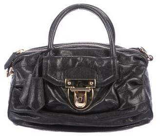 Reed Krakoff Metallic Leather Satchel