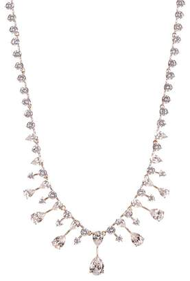 Nadri Rose Gold Plated Audrey CZ Collar Necklace