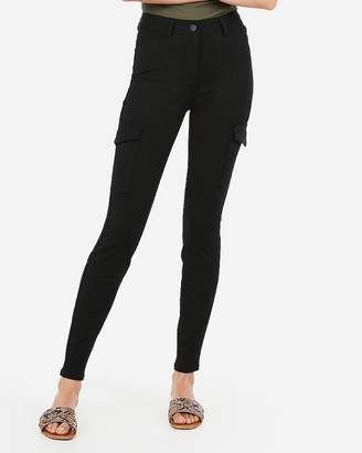 Express High Waisted Cargo Leggings
