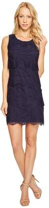 Jessica Simpson Tiered Lace Dress JS4R4533 Women's Dress