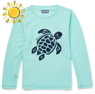 Vilebrequin Boys Ages 2 - 12 Printed Stretch-Jersey Rash Guard