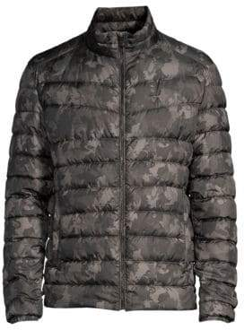 Strellson Slim-Fit Camo Puffer Jacket