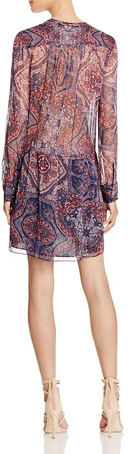 Love Sam Paisley Shirt Dress 2