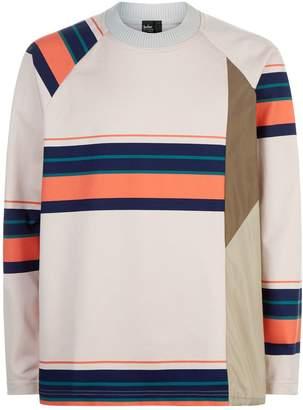 Kolor Neon Stripe Sweatshirt