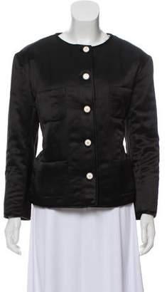 Chanel 2017 Faux Fur Silk Jacket w/ Tags