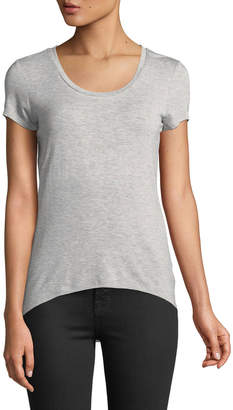 Free Generation Scoop-Neck Fitted Tee