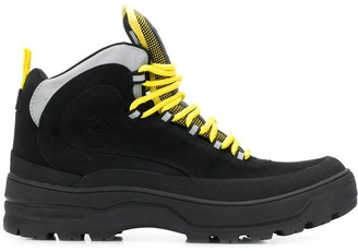 Tommy Jeans colour block expedition boots