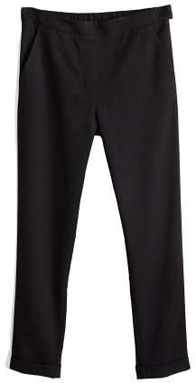 Mango MANGO Contrasting panels trousers