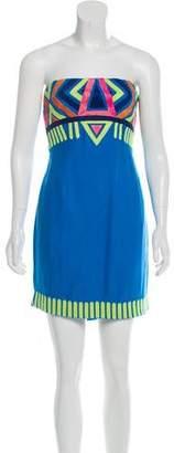 Mara Hoffman Embroidered Mini Dress