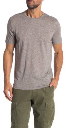 Quinn Speckled Crew Neck Short Sleeve Shirt