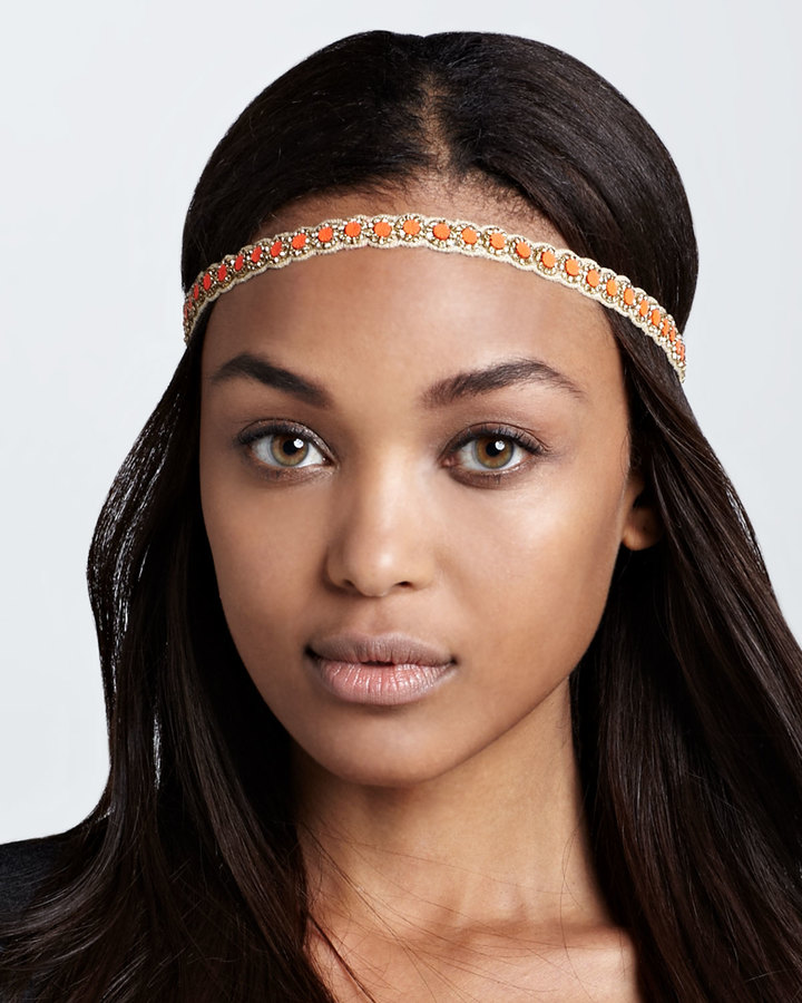 Deepa Gurnani Copal Beaded Headband