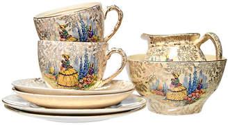 One Kings Lane Vintage Decorative Gilded Tea Set - 8Pcs - Portfolio No.6