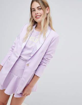 Lepel Amy Lynn Tailored Blazer With Satin