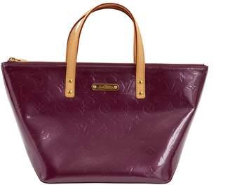 Louis Vuitton Bellevue Purple Patent leather Handbag