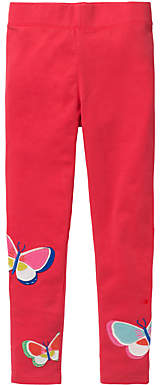 Boden Mini Girls' Applique Leggings, Pink