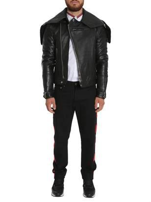 Givenchy Hooded Biker Jacket