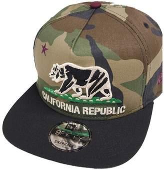 New Era California Republic Camo Maroon Snapback Cap 9fifty S M Limited Edition