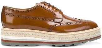Prada lace-up brogues