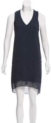 Helmut Lang Sleeveless High-Low Dress